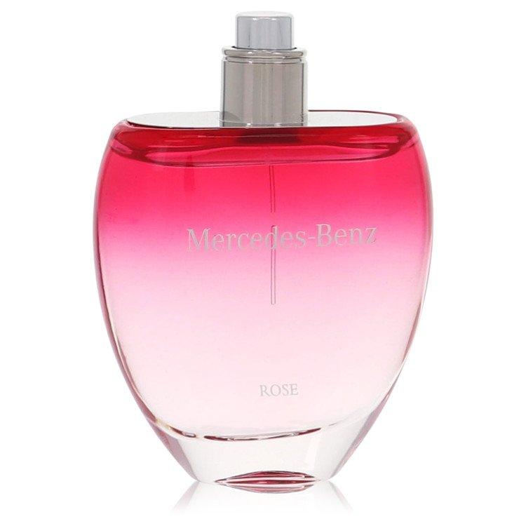Mercedes Benz Rose by Mercedes Benz for Women Eau De Toilette Spray (Tester) 3 oz