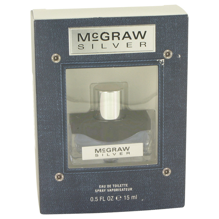 McGraw Silver by Tim McGraw for Men Eau De Toilette Spray .5 oz