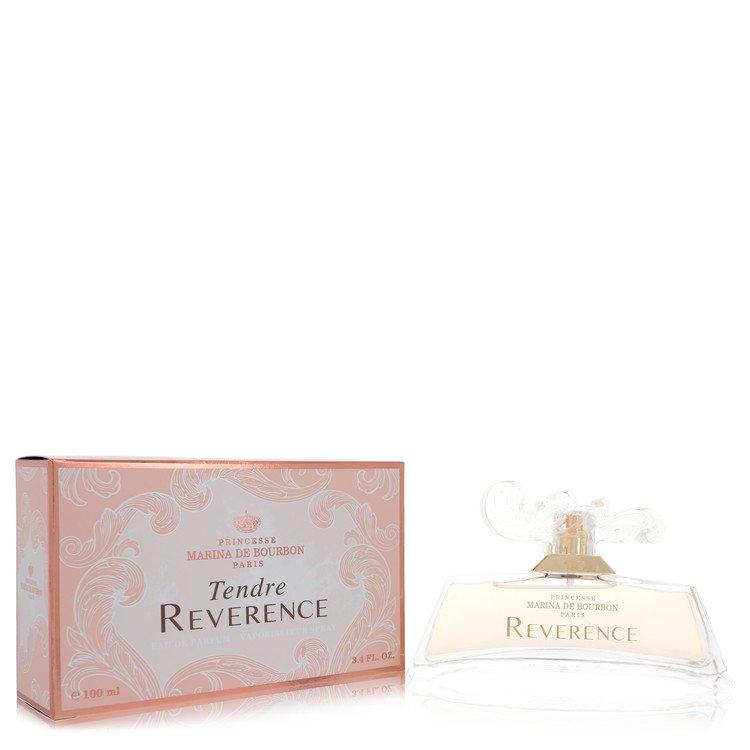 Tendre Reverence by Marina De Bourbon for Women Eau De Parfum Spray 3.4 oz