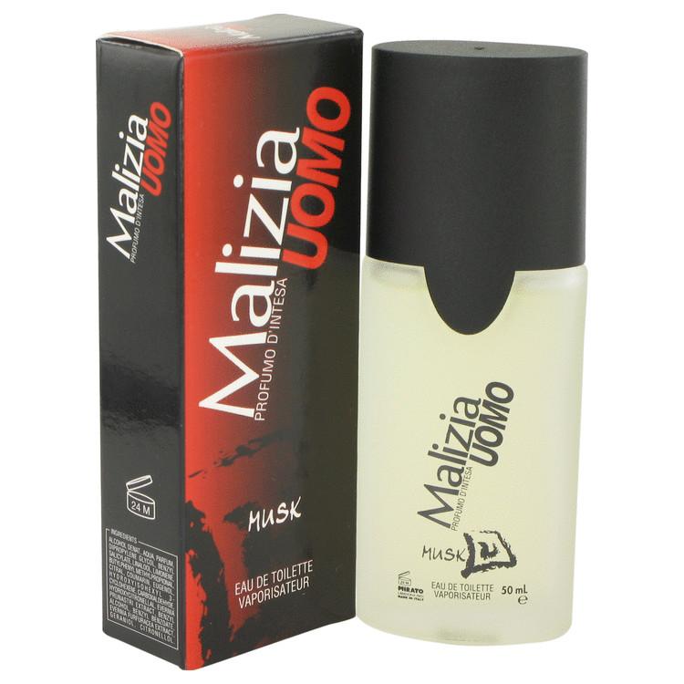 Malizia Uomo Musk by Vetyver for Men Eau De Toilette Spray 1.7 oz