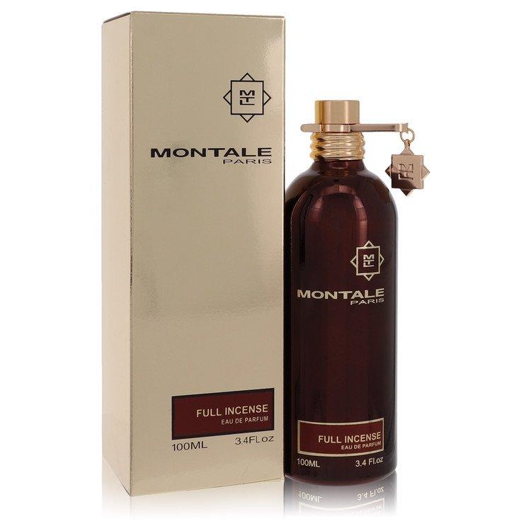 Montale Full Incense by Montale for Women Eau De Parfum Spray 3.4 oz