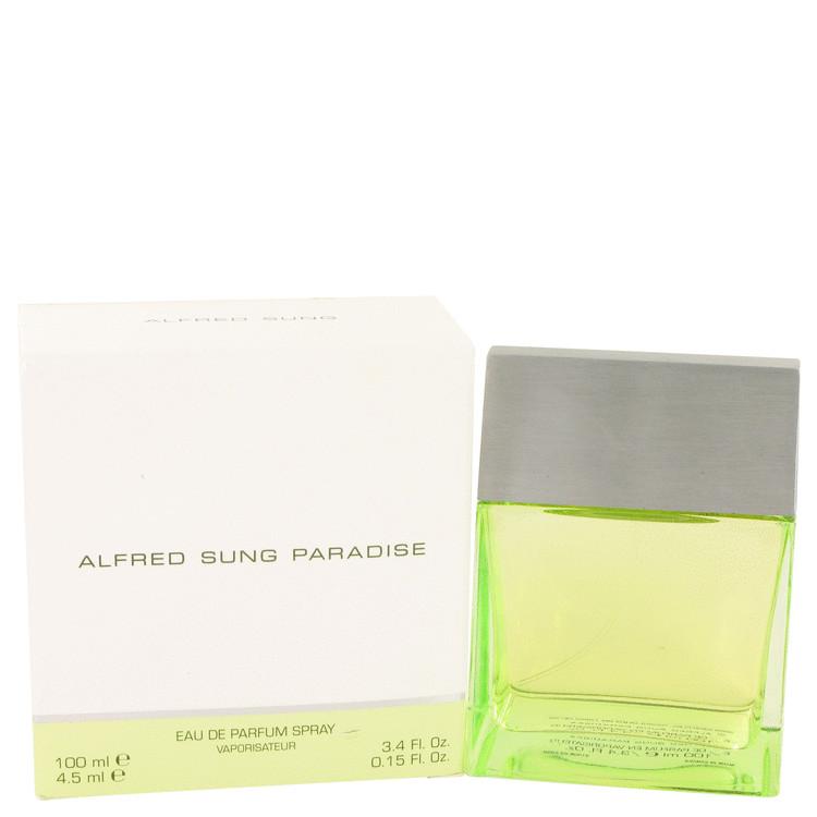 Paradise by Alfred Sung for Women Eau De Parfum Spray (Slightly Damaged Box) 3.4 oz