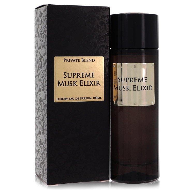 Private Blend Supreme Musk Elixir by Chkoudra Paris for Women Eau DE Parfum Spray 3.3 ozq