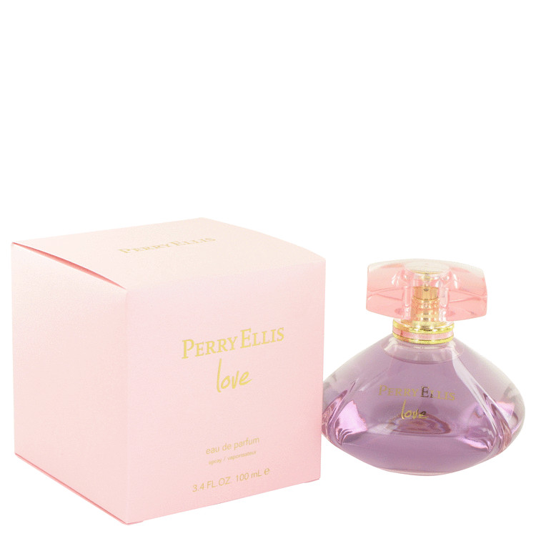 Perry Ellis Love by Perry Ellis for Women Eau De Parfum Spray 3.4 oz