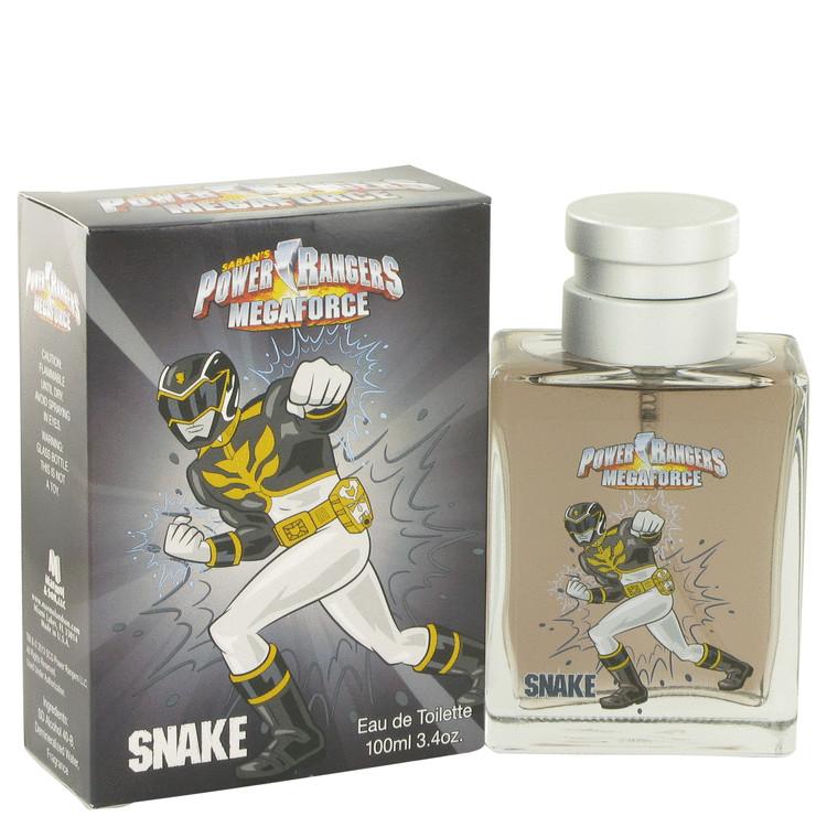 Power Rangers Megaforce Snake by Marmol & Son for Men Eau De Toilette Spray 3.4 oz