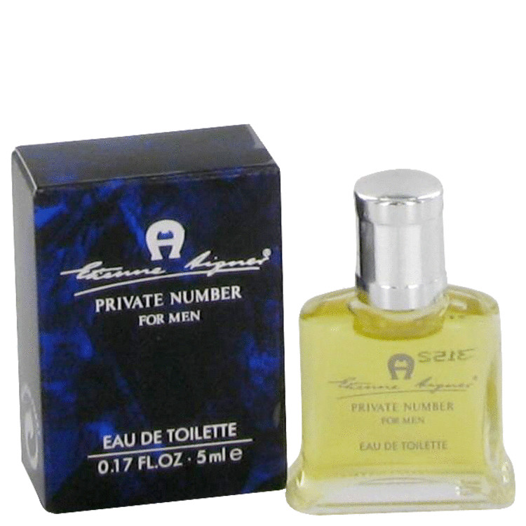 Private Number by Etienne Aigner for Men Mini EDT .17 oz