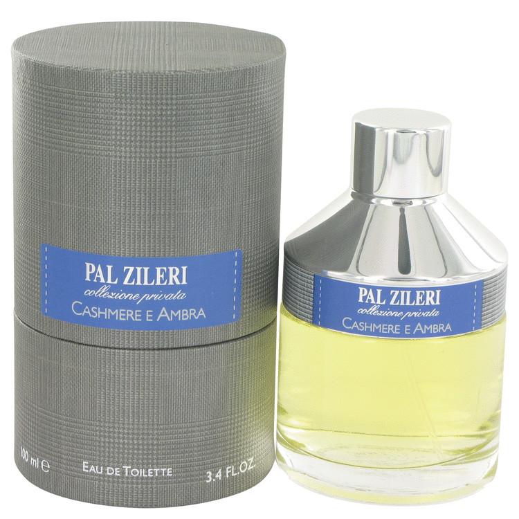 Pal Zileri Cashmere E Ambra by Mavive for Men Eau De Toilette Spray 3.4 oz