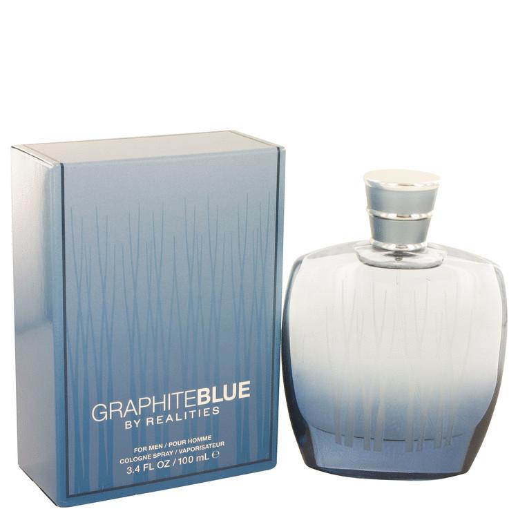 Realities Graphite Blue by Liz Claiborne for Men Eau De Cologne Spray 3.4 oz