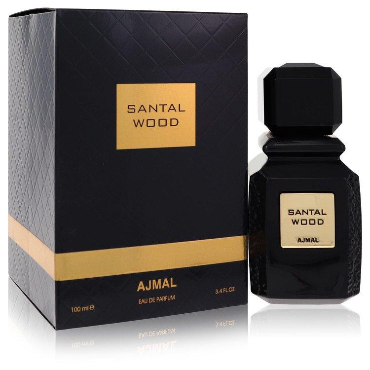 Santal Wood by Ajmal for Women Eau De Parfum Spray (Unisex) 3.4 oz