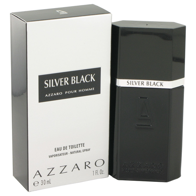 Silver Black by Loris Azzaro for Men Eau De Toilette Spray 1 oz