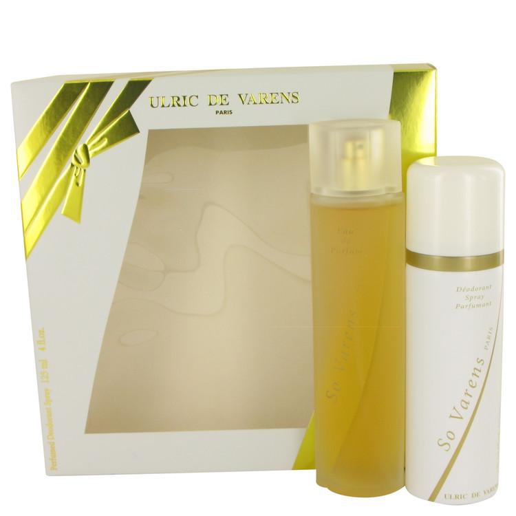So Varens by Ulric De Varens for Women Gift Set -- 2.5 oz Eau De Parfum Spray + 4 oz Deodorant Spray