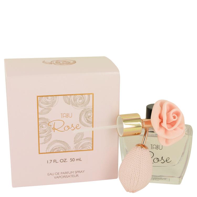 Tabu Rose by Dana for Women Eau De Parfum Spray 1.7 oz