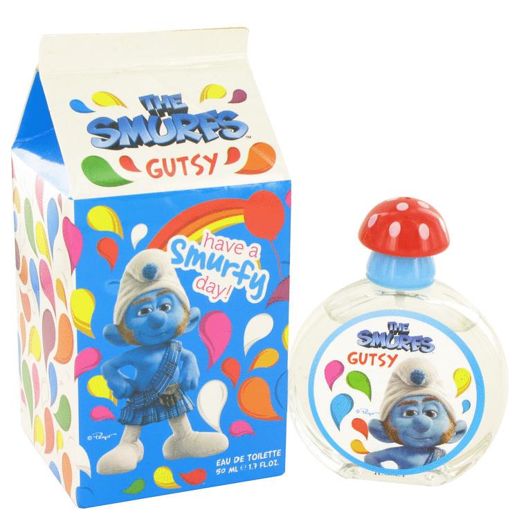 The Smurfs by Smurfs for Men Gutsy Eau De Toilette Spray 1.7 oz