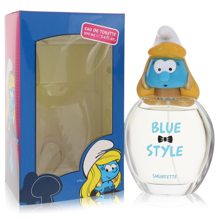 The Smurfs by Smurfs for Women Blue Style Smurfette Eau De Toilette Spray 3.4 oz
