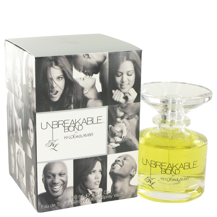 Unbreakable Bond by Khloe and Lamar for Women Eau De Toilette Spray (unisex) 3.4 oz