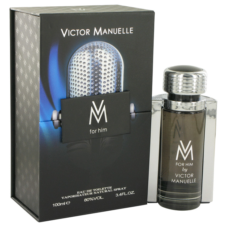 Victor Manuelle by Victor Manuelle for Men Eau De Toilette Spray 3.4 oz