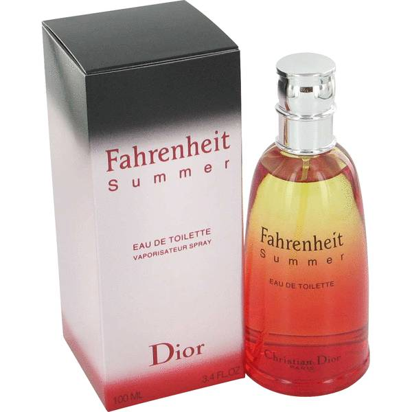 Fahrenheit Summer Fragrance Cologne