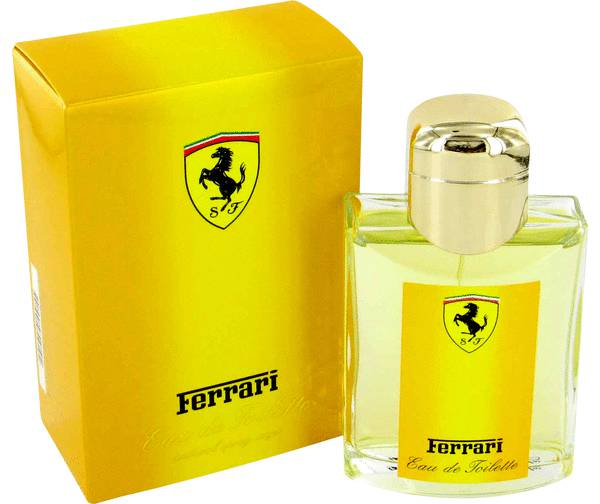 Ferrari Yellow Cologne