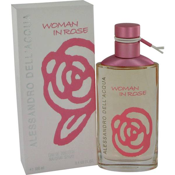 Woman In Rose Perfume