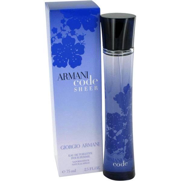 Armani Code Sheer Perfume