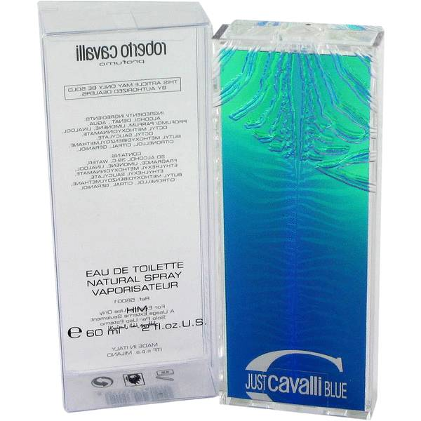 Just Cavalli Blue Cologne