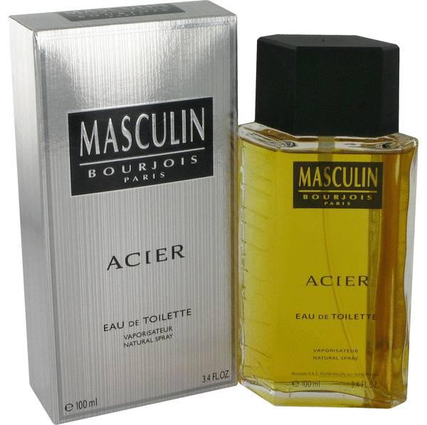 Masculin acier cologne for men by bourjois - Acier s ...