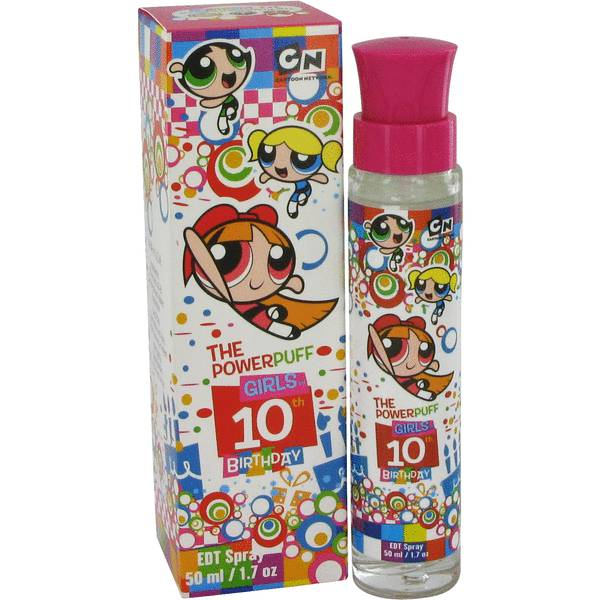 Powerpuff Girls 10th Birthday Perfume
