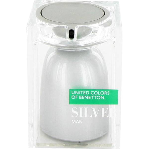 United Colors Of Benetton Silver Cologne