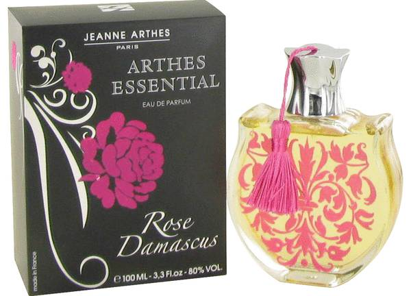 Essential Rose Damascus Perfume