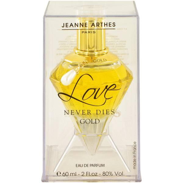 Love Never Dies Gold Perfume