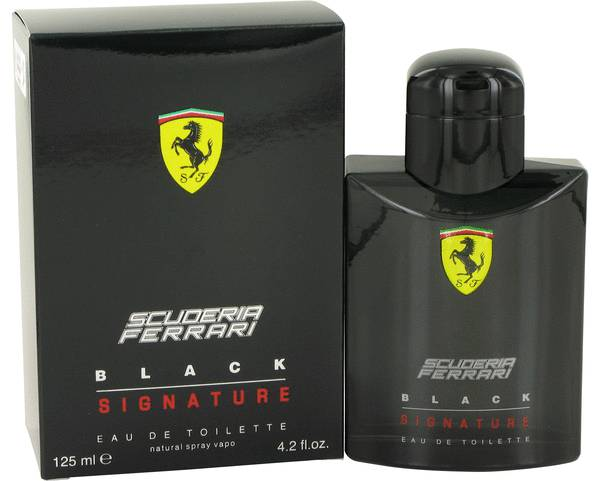 Ferrari Scuderia Black Signature Cologne