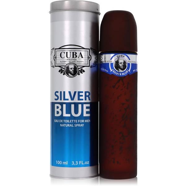 Cuba Silver Blue Cologne