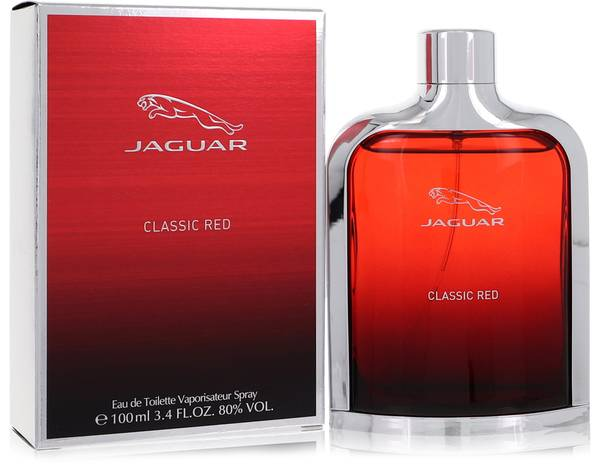 jaguar classic red cologne for men by jaguar. Black Bedroom Furniture Sets. Home Design Ideas