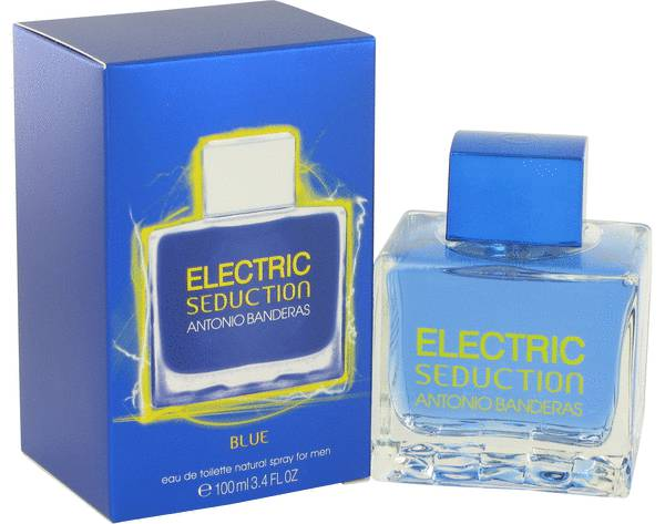Electric Seduction Blue Cologne