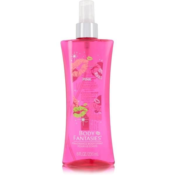 Body Fantasies Signature Pink Vanilla Kiss Fantasy Perfume