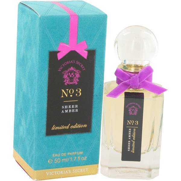 Victoria's Secret No 3 Sheer Amber Perfume