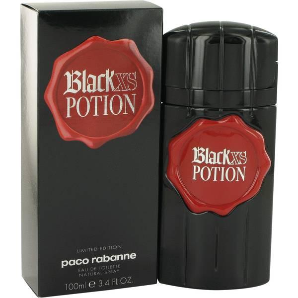 black xs potion cologne for men by paco rabanne. Black Bedroom Furniture Sets. Home Design Ideas
