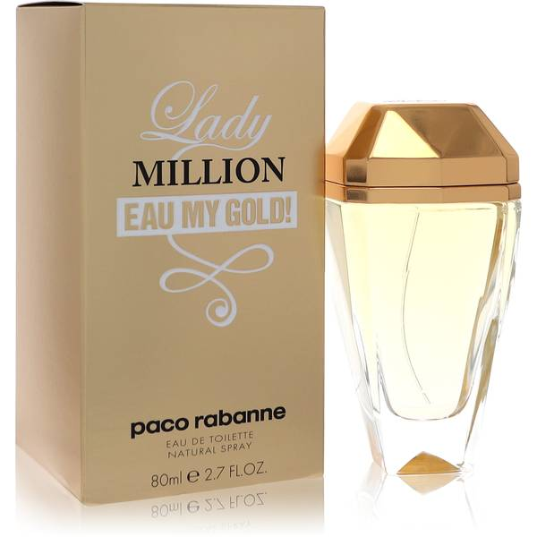 lady million eau my gold perfume for women by paco rabanne. Black Bedroom Furniture Sets. Home Design Ideas