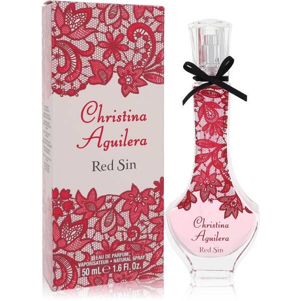 Christina Aguilera Red Sin Perfume