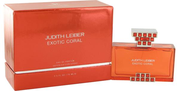 Judith Leiber Exotic Coral Perfume