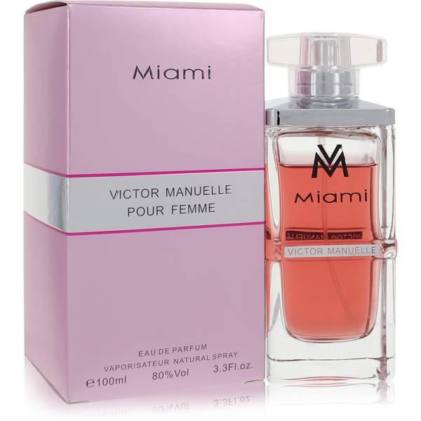 Victor Manuelle Miami Perfume