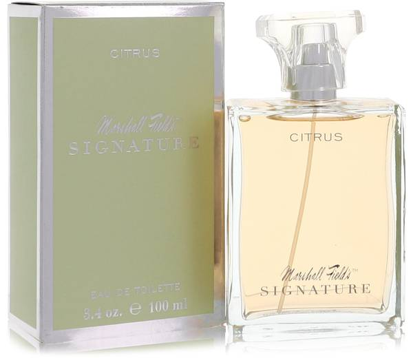 Marshall Fields Signature Citrus Perfume