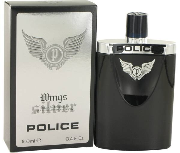 Police Wings Silver Cologne
