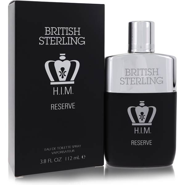 British Sterling Him Reserve Cologne