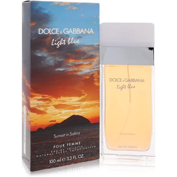 Light Blue Sunset In Salina Perfume by Dolce & Gabbana