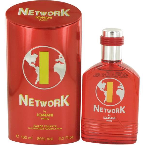 Lomani Network 1 Red Cologne