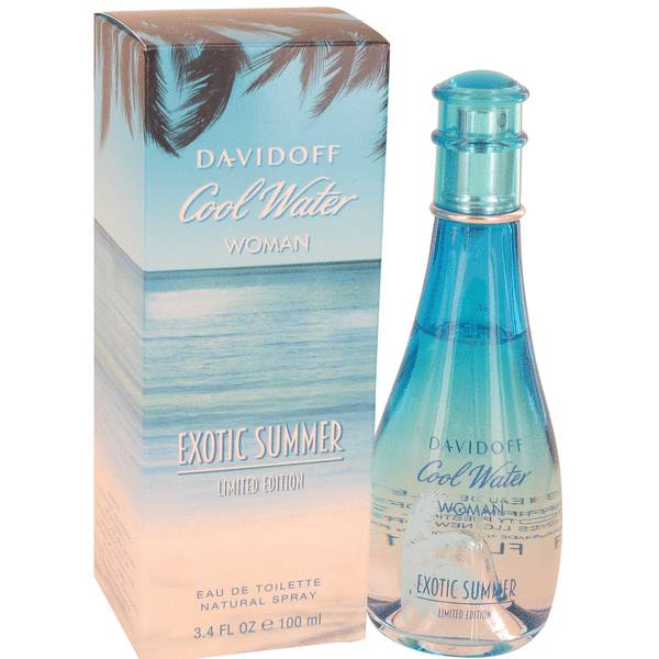 Cool Water Exotic Summer Perfume