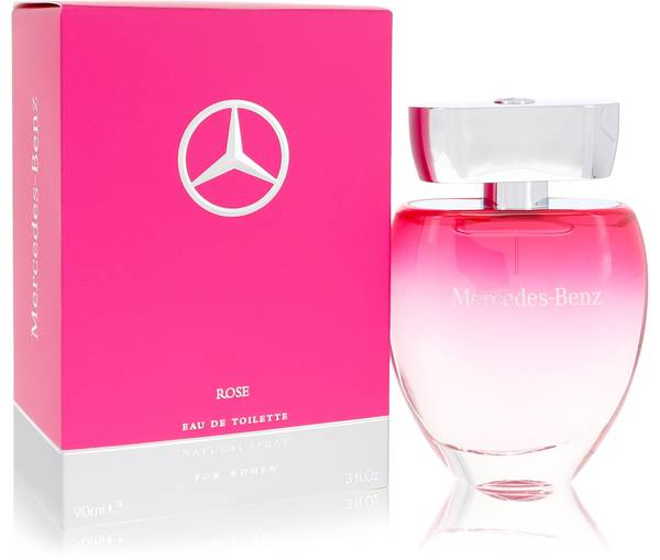 Mercedes benz rose perfume for women by mercedes benz for Mercedes benz perfume