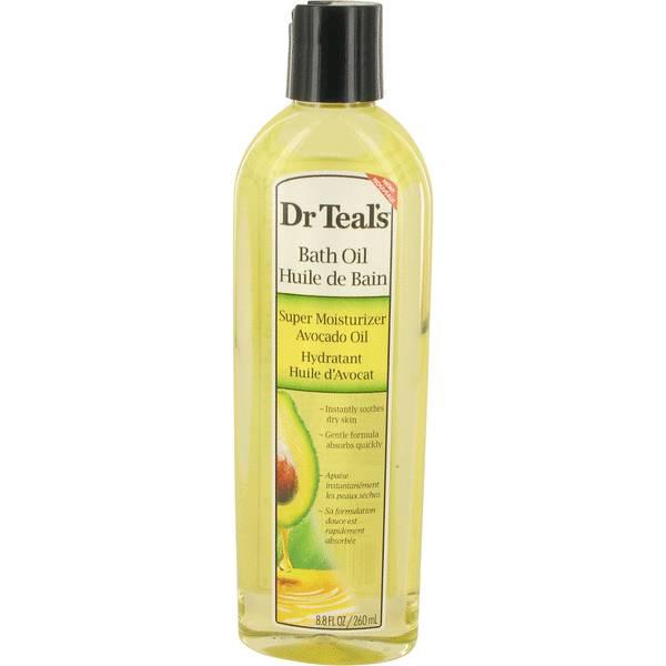 Dr Teal's Bath Oil Super Moisturizer Avocado Oil Perfume