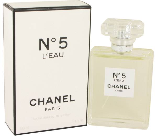 chanel no 5 l 39 eau perfume for women by chanel. Black Bedroom Furniture Sets. Home Design Ideas